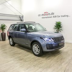 Range Rover My2018 3.0l Tdv6 Hse Byron Blue Ebony Jcl56 - Buy Hse Ebony Panoramic Keyless Handsfree Terrain All Soft Close Product on Alibaba.com Used Luxury Cars, Luxury Cars For Sale, Car In The World, Range Rover, Rear Seat, Motors, Stuff To Buy, Blue, Board