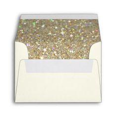 Custom Envelope - (3.5x5) Off White Fab