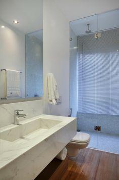 Triplex Viviane / Intown Arquitetura #bathroom