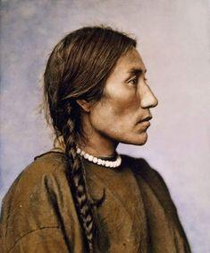 Mrs. Bad Gun. 1879. Cheyenne. Photo by L.A.Huffman