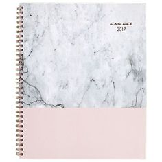 """2017 AT-A-GLANCE® 11"""" x 8 1/2"""" Weekly/Monthly Appointment Book/Planner Marbelous (1032-905-17)"""