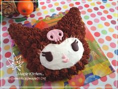 Kuromi cake Cool Birthday Cakes, Birthday Parties, Kawaii Dessert, Japanese Desserts, Hello Kitty Birthday, Sanrio Characters, Space Cat, My Melody, Surprise Gifts