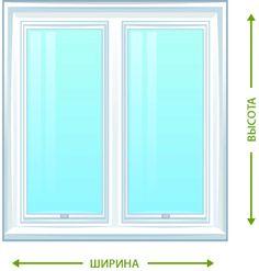 Как правильно замерять стандартные размеры пластикового окна?