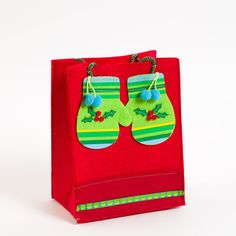 Medium Mittens Felt Gift Bag Price $7.95
