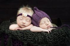 Twin babies in a cute pose as they sleep Joanne Collins cute baby portraits, Sittingbourne, Kent