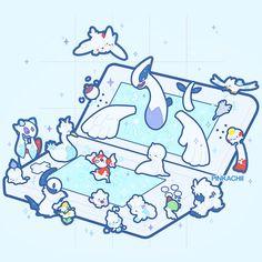 Cute Pokemon Wallpaper, Kawaii Wallpaper, Cute Cartoon Wallpapers, Pokemon Funny, My Pokemon, Cool Pokemon, Kawaii Drawings, Cute Drawings, Game Character