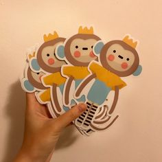 #bumper #sticker #tailor #made #doodle #monkey #prince #doll #baby #play #creative #art #innovation #wanted #design #graphics #illustration #emchengillustration #vector #simple