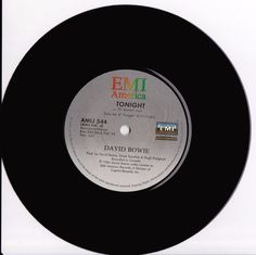 """DAVID BOWIE Tonight 1984 South Africa Rare Issue 7"""" 45 Vinyl AMIJ544 Free S&H in Music, Records   eBay"""