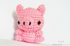 DIY Free Baby Pig Pattern---I'd add wings to make it a flying pig!!!!