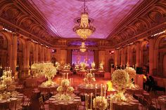 winter wedding venue | New York Weddings Guide - The Reception - Eight Fantasy Venues and ...
