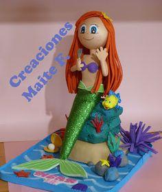 FOFUCHAS. Manualidades y Creaciones Maite: FOFUCHA LA SIRENITA -Princesa Ariel