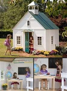 Their own schoolhouse!.