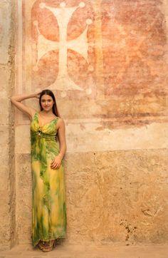 Bastione San Gallo - Pisa. Abito : Flyer Moda . Gioielli : Zoppini