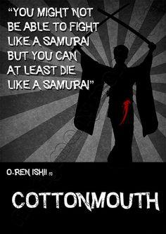 Kill Bill Wall Art (Cottonmouth)
