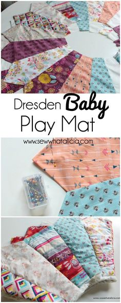 Dresden Baby Play Mat | www.sewwhatalicia.com