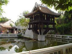 La Pagoda del Pilar único de Hanoi (Vietnam). http://www.vietnamitasenmadrid.com/2011/06/pagoda-pilar-unico.html