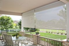 Innovative Openings offers custom-sized patio sun shades from Insolroll®, visit our Louisville, CO showroom or call us at 303-665-1305!