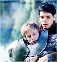 """I can't lose him! HE'S MY FRIEND!""- Merlin, Diamond of the Day  And my heart is broken. :'("