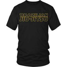 Brazilian jiu jitsu Star wars style T-shirt