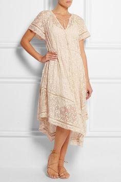 Zimmermann|Nightmarch Vine embroidered silk-georgette dress|NET-A-PORTER.COM