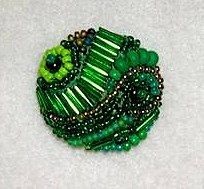Beaded Button – Beadwork Project