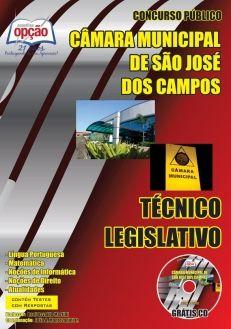 Apostila Concurso Câmara Municipal de São José dos Campos - TÉCNICO LEGISLATIVO