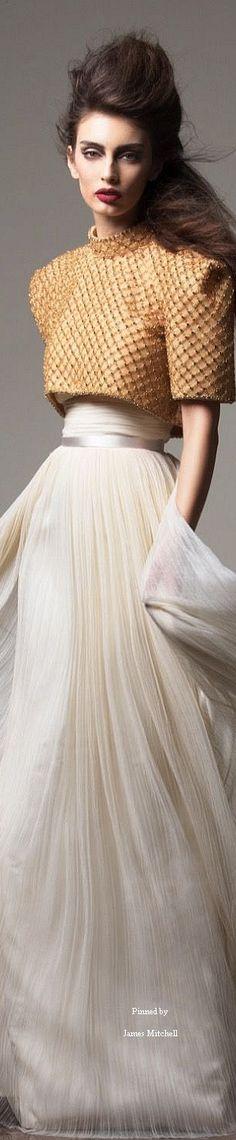 Saiid Kobeisy Couture Fall-winter 2015-2016 @missjanespring/fashionfiend