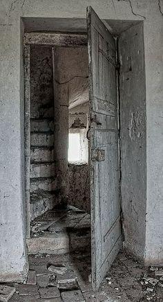 puerta blaca