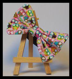 Items similar to Mini Owls Pink Bow Tie Cat Collar on Etsy Pink Bow Tie, Cat Collars, Owls, Homemade, Mini, Etsy, Decor, Decoration, Decorating