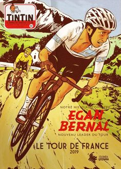 Cycling Art, Comic Books, Tours, Comics, Cover, Bicycle, Posters, Graphics, Bicycles