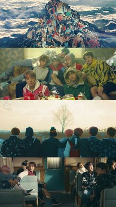 BTS SPRING DAY MV