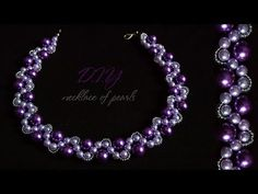(10) How To Make Designer  Necklace Pearl At Home | DIY | Bridal Necklace | Necklace Pearl - YouTube