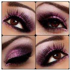 Pink and Purple Eyes Makeup Kit