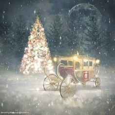 ❄ 20 Magical, Snowy, Animated Christmas Scenes To Start Getting You In The Holiday Mood — Style Estate Merry Christmas Animation, Merry Christmas Wallpaper, Christmas Scenery, Merry Christmas Images, Beautiful Christmas Trees, Christmas Mood, Christmas Music, Vintage Christmas, Christmas Eve Pictures