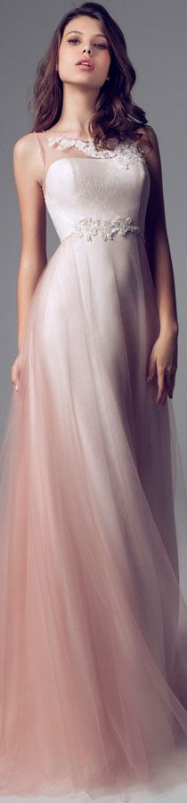 Blumarine Bridal 2014 Wedding dresses #bride #dress #pink <3