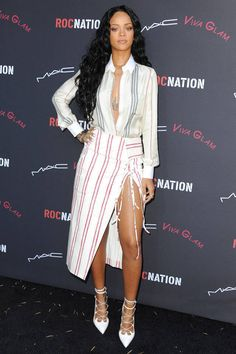 Rihanna Today's Style Secret - Celebrity Style Tips - Harper's BAZAAR
