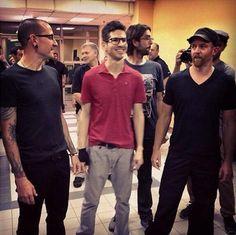 Chester, Brad, Rob, and Phoenix - Linkin Park