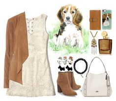"""""""Spirit Animals (Dog)"""" by ubiquitous-merkaba ❤ liked on Polyvore featuring Sydney Evan, Hollister Co., Dorothy Perkins, Aedes De Venustas, Miriam Haskell, Nine West, Coach, Casetify, Boconi and sososspirits"""