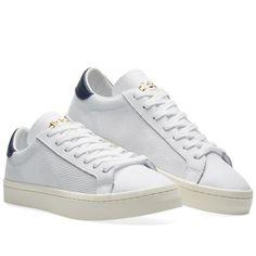 Adidas Stan Smith (White & tactile Azul) formadores no