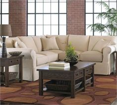 Luxury Small Sectionals for Tight Spaces