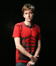 The iconic 'muscles' t-shirt worn by David Tennant during the Royal Shakespeare Company's 2008 production of Hamlet is the latest additi...