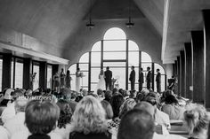 wedding ceremony chapel rustic chic romantic at the altar wedding guests http://www.trueimageryblog.blogspot.com/