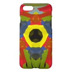 Modern unique art iPhone 7 case - tap to personalize and get yours Iphone Models, Abstract Pattern, Iphone Case Covers, Unique Art, Iphone 7, Create Your Own, Modern, Yellow Black, Colorful