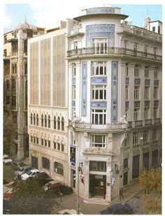 Banque of Athens, Istanbul, 1911-1913, known as Minerva Han, (today part of the Sabanci university)