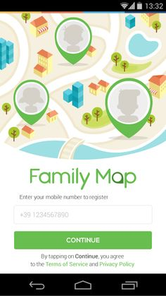 Family Map Login on
