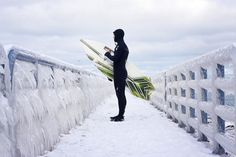 Saltless surfing: Riding the waves of the Great Lakes | Michigan Radio