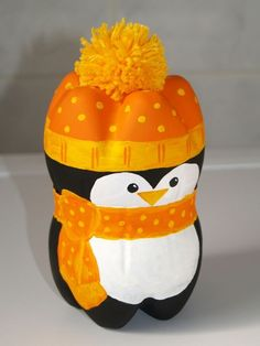cute plastic bottle penguin