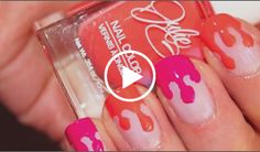 Want a new way to paint your nails? Check out this newest trend on Rite Aid's #NailExtravaganza site: Dripping Paint Manicure