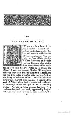 Title-pages as Seen by a Printer: With Numerous Illustrations in Facsimile ... - Theodore Low De Vinne - Google Books - Initial H
