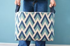 diy fabric basket tu